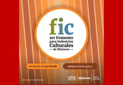 Primer Fomento para las industrias culturales de Misiones