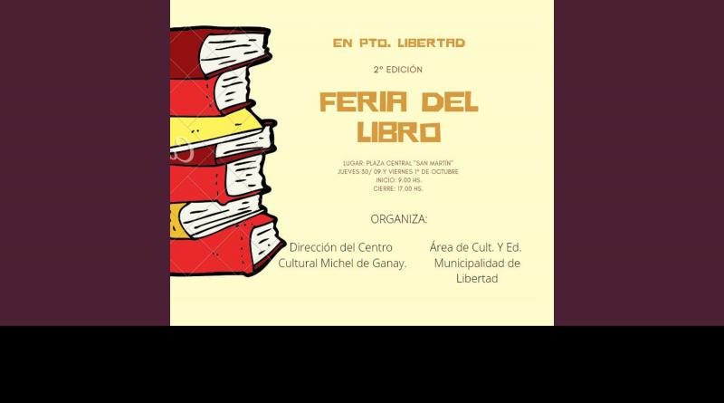 Feria del Libro en Puerto Libertad